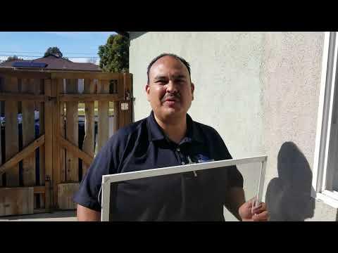 How to clean window screens using Screen Magic Window Screen Cleaner