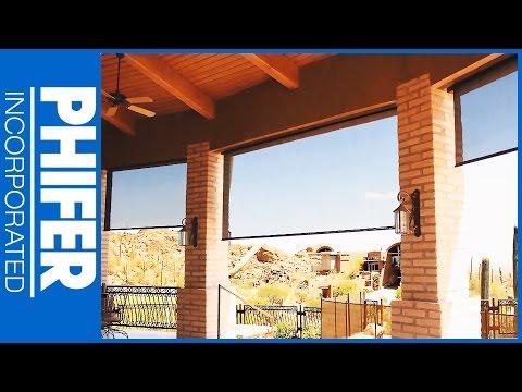 Phifer SunTex 80 & SunTex 90 Solar Screen Fabric & Product Overview