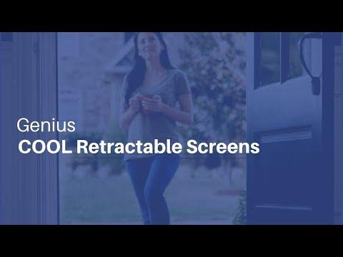Genius Retractable Screens