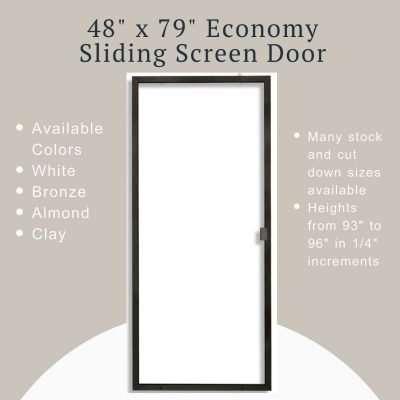 Product image of 48x79 Economy Sliding Screen Door