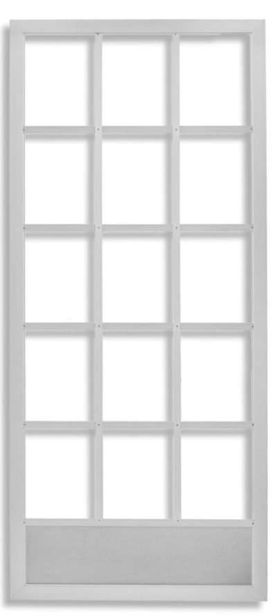Anodized aluminum Cape Cod Swinging Screen Door by Active Window Products