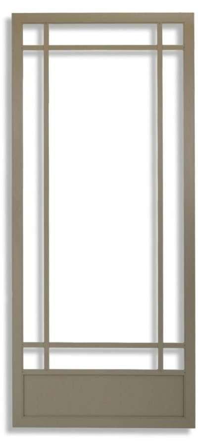 Prairie 9-Lite Swinging Screen Door