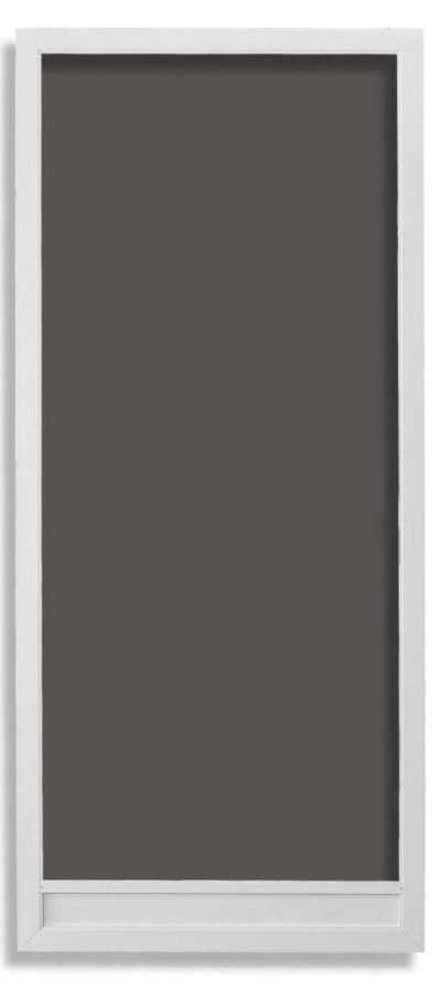 Vista Swinging Screen Door White