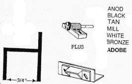French Door Kit for Swinging Screen Doors