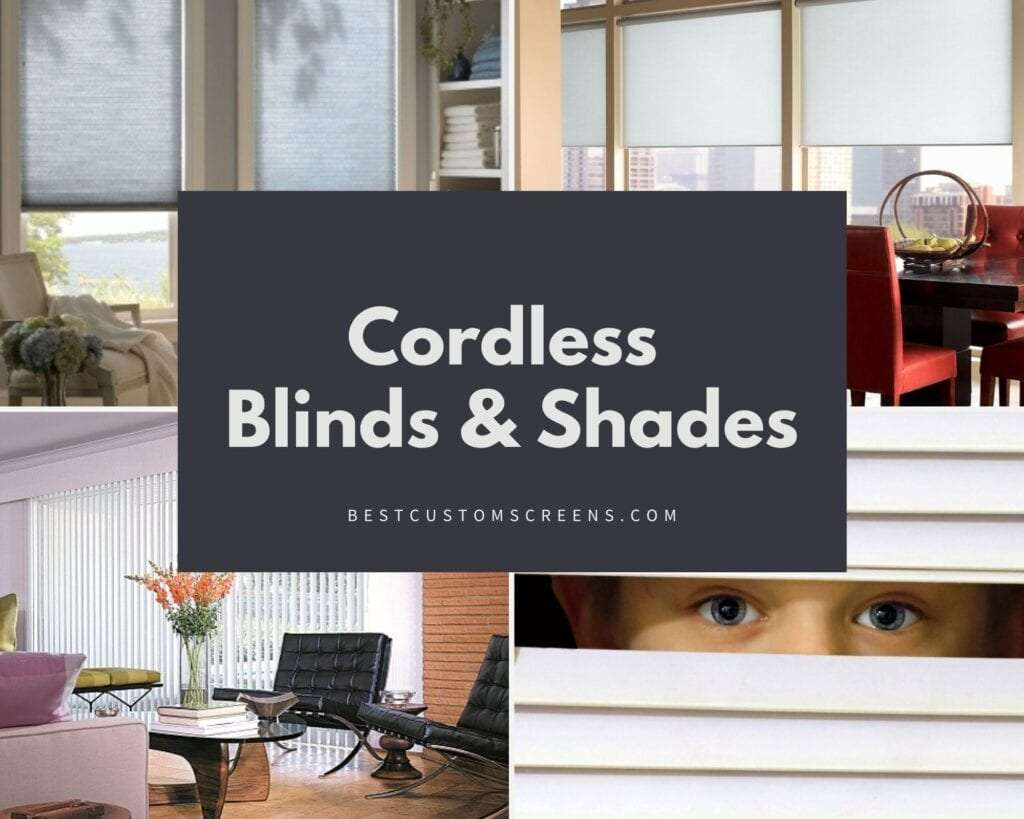 Child Safe Cordless Blinds & Shades on at BCS