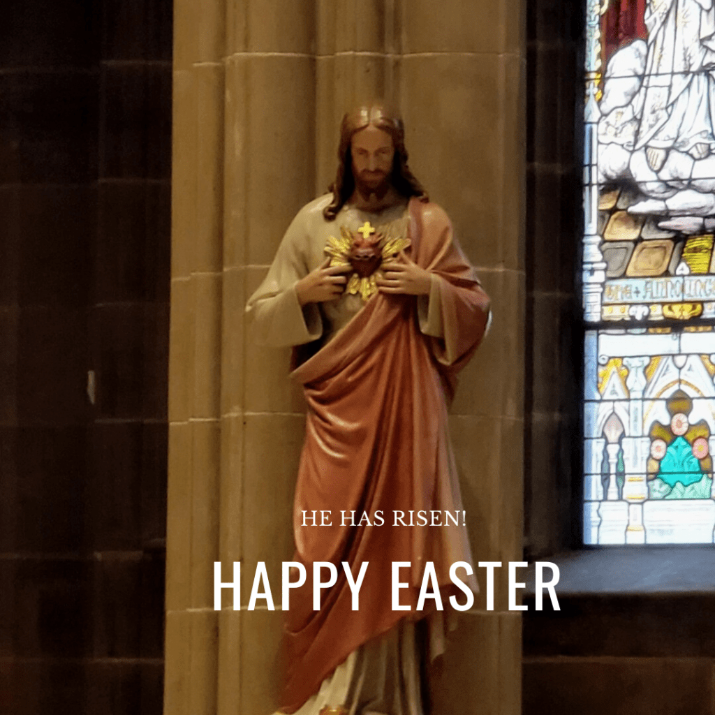 Jesus Christ our King Happy Easter