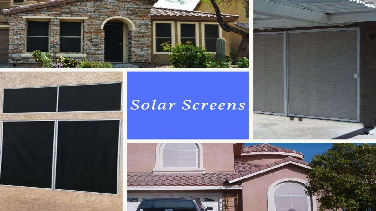 solar screen job images collage