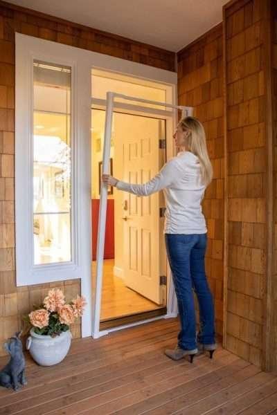 Genius COOL Retractable Screen Single Door